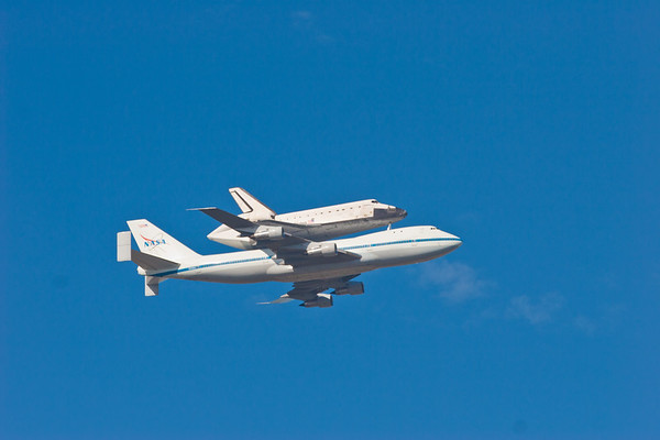 Space Shuttle Flyover, Sept. 21, 2012