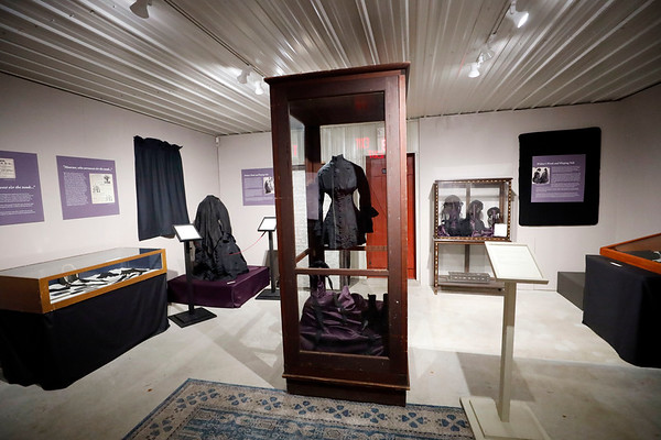 Historical Society's exhibit on Mourning in the Berkshires