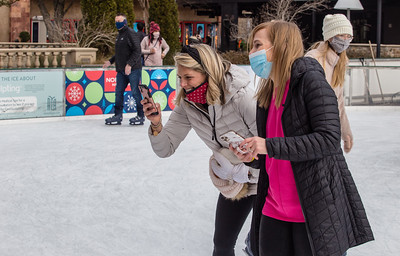 Ice Skating at Avalon