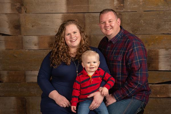 April Hill family