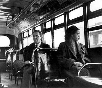 Rosa Parks Farewell Jan 2005
