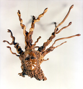 Yew Medusa by Cristina Biaggi