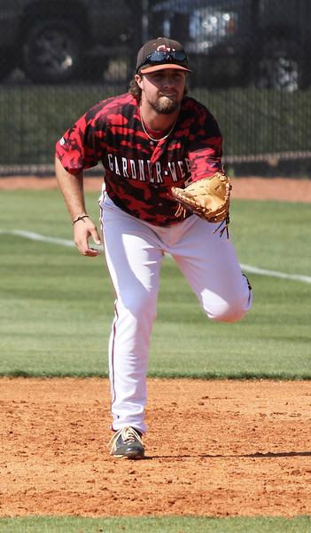 First baseman, number 15, Dusty Quattlebaum