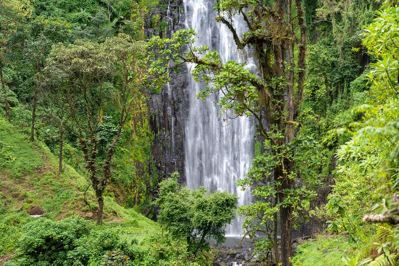 Materuni Waterfall in Tanzania