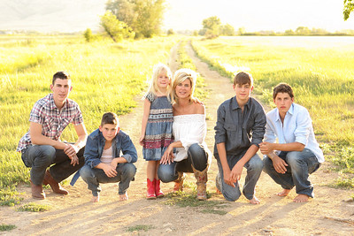 The Harrell Family 2012