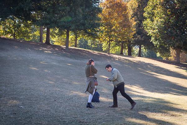 Jason Piedmont Park Surprise Proposal, Atlanta.