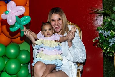 Bronx, NY - June 06:  Charlottes First birthday, Bronx, USA.