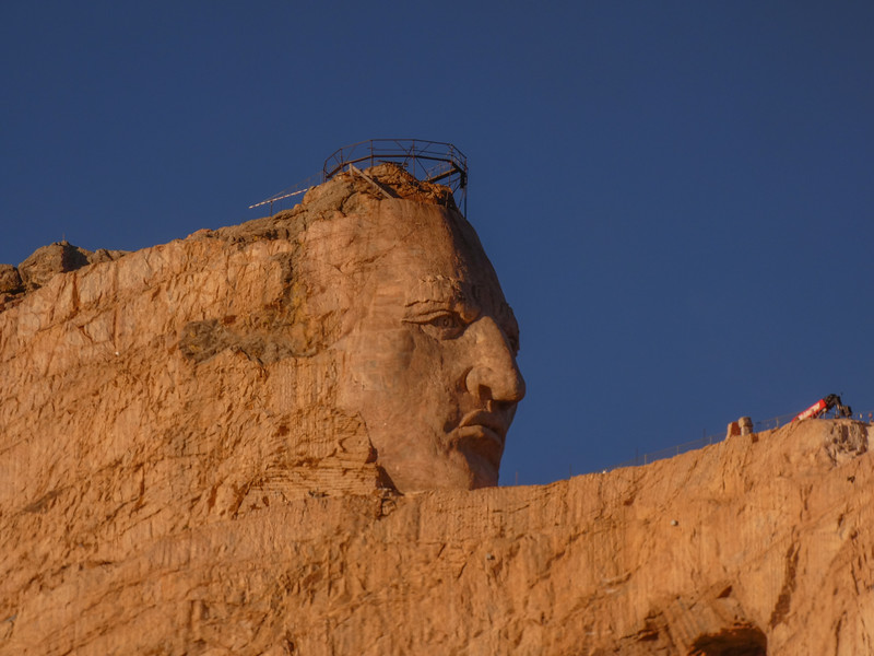 Late evening  - Crazy Horse