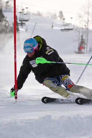 U.S. Ski Team Training on Golden Peak, Vail