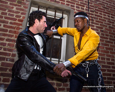 Punisher vs Luke Cage