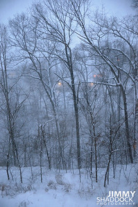 Snowfall February 9