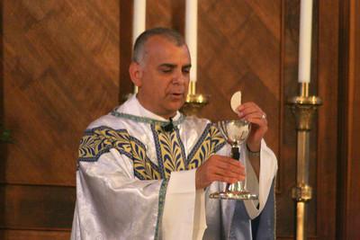 Father Joe's first Mass