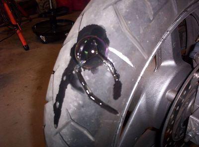 Flat Tire Ride