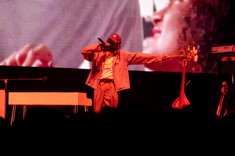 Blood Orange opens for Tyler the Creator, October 14, 2019