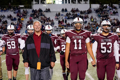 Altoona Football v State College Senior Night 10-18-19
