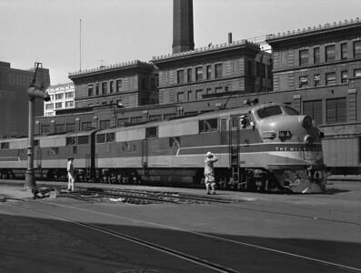 CMStP&P—Diesel Locomotives/Trains