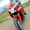 Motorcycle In Motion-4