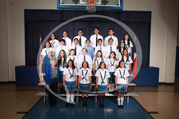 St Paul School 2015 Class Group Photos
