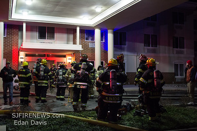 01/03/2019, 2 Alarm Commercial Vehicle & Structure, Vineland City, Cumberland County NJ, 398 Smith St. Holiday Inn Express