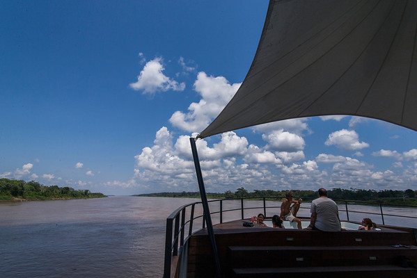 Aqua Expeditions. Aria. Amazon cruise