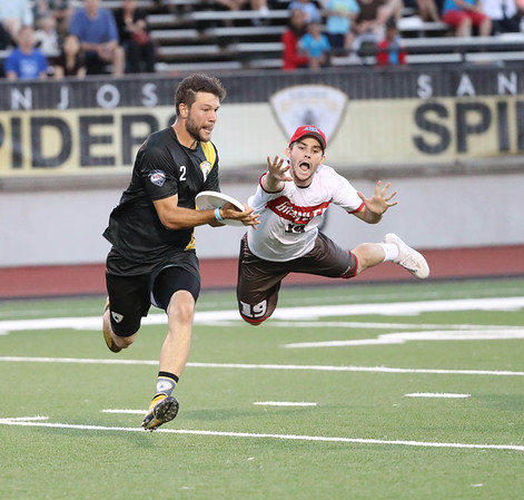 16.06.25 AUDL : SD Growlers v SJ Spiders