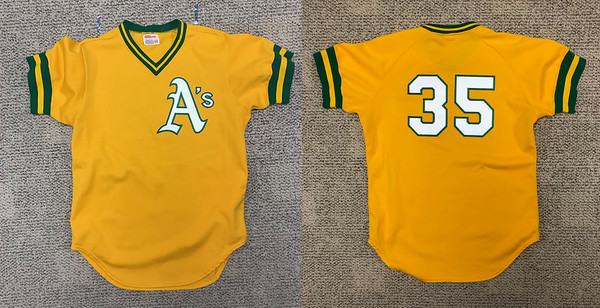 Customization: Authentic MLB jerseys lettered exactly as the teams would have done them in the day.