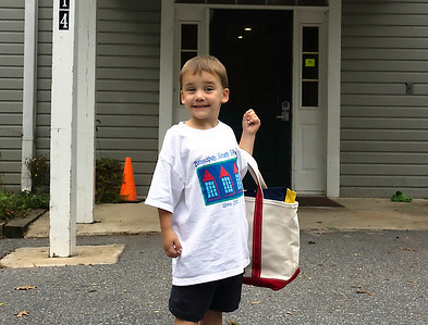 David's First Day of PreSchool