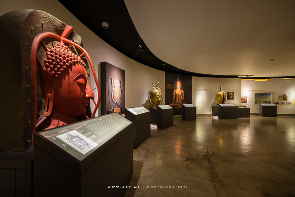 Exhibition of the Golden Buddha