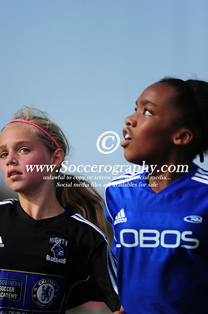 02 Lady Lobos Blue vs Mighty Bluebirds Chelsea