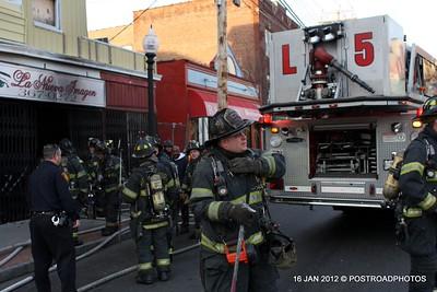 Store Fire ~ East Main Street