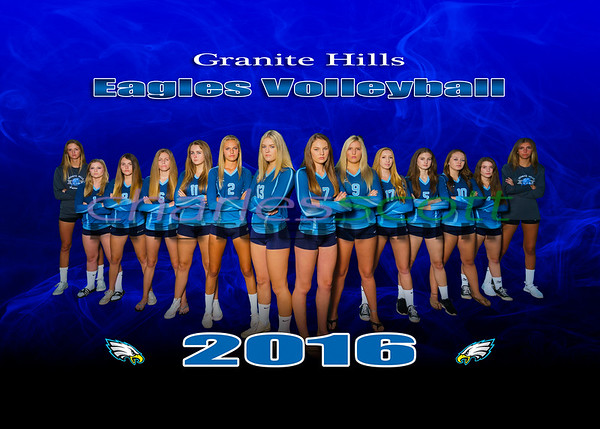 Granite Hills Girls Volleyball 2016