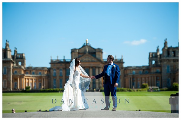 Blair & Tom.  BLENHEIM PALACE