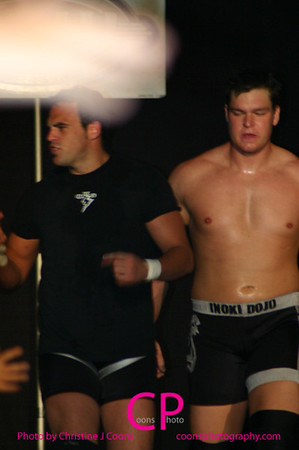 CK3 and Brad Bradely vs JT Playa and Jon Bolen