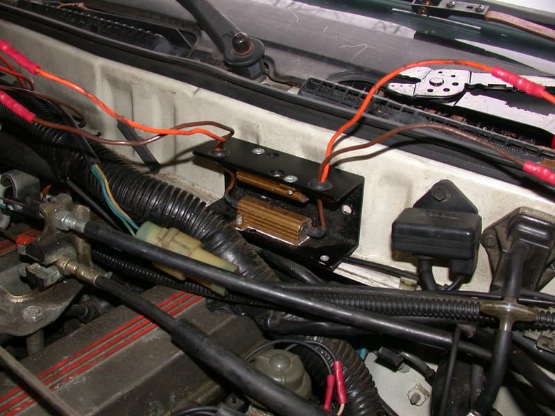 injector ballast resistors