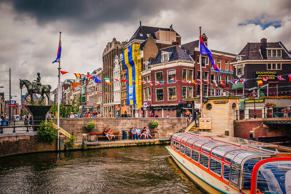 荷兰阿姆斯特丹,城市速写