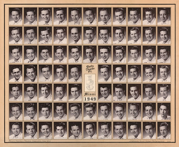 Alpha Chapter Composites: 1940-1969