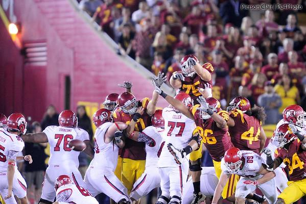 USC Football v Utah 09/10/11
