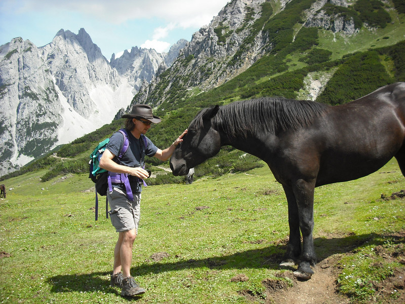 "That horse farted at me.  I'm a bit of a horse whisperer myself.  I whispered to him, ""Easy on the those farts, old boy."""