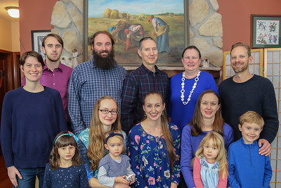 """The """"C"""" Family, Thanksgiving 2019"""