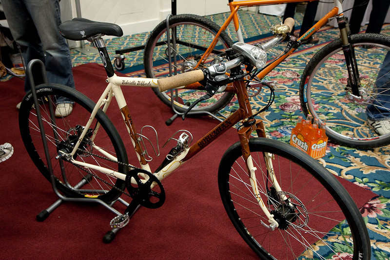 Bohemian Bikes shows a perfect example of the builder's curse.  You can build the most finely crafted bike, but all most people see is the paint job.