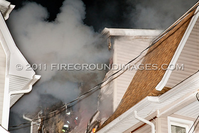 Highland Ave. Fire (Bridgeport, CT) 10/24/11