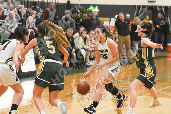Mansfield - Bishop Feehan Girls Basketball 2-17-20