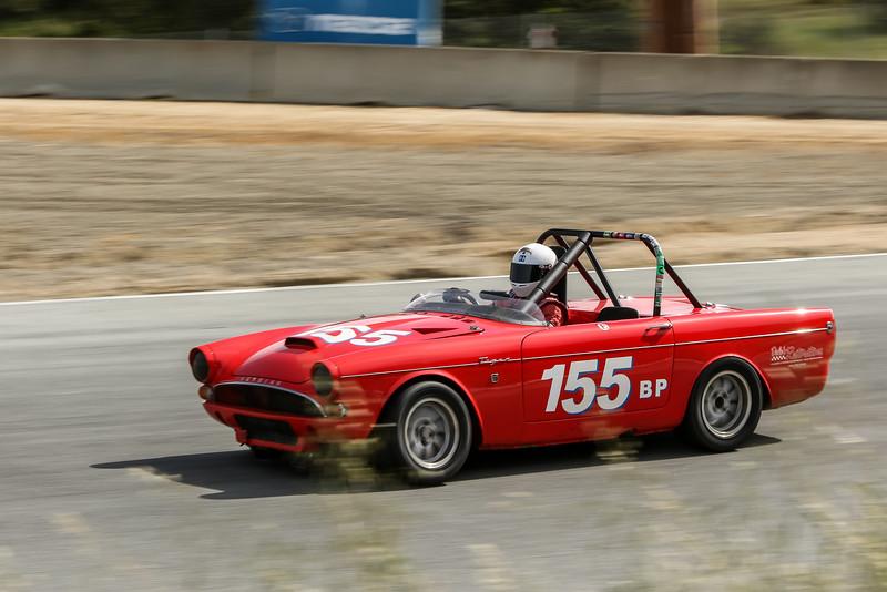 #155, Dale Abuszewski, 1965 Sunbeam Tiger