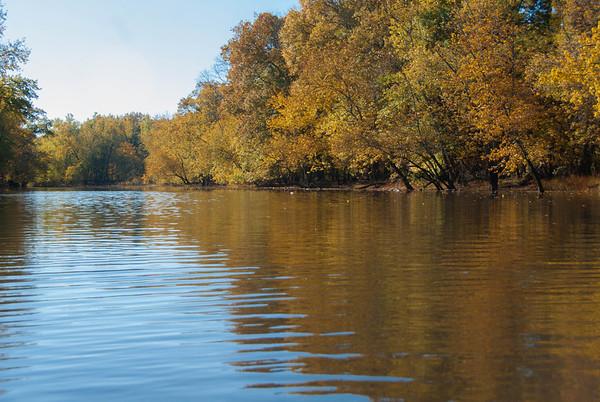 2012-10-21 Kayaking the Passaic at Eagle Rock to the Rockawaway at Sharkeys Landfill