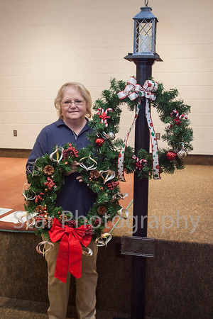 Christmas Wreathes At Sycamore Shoals 11-22-13
