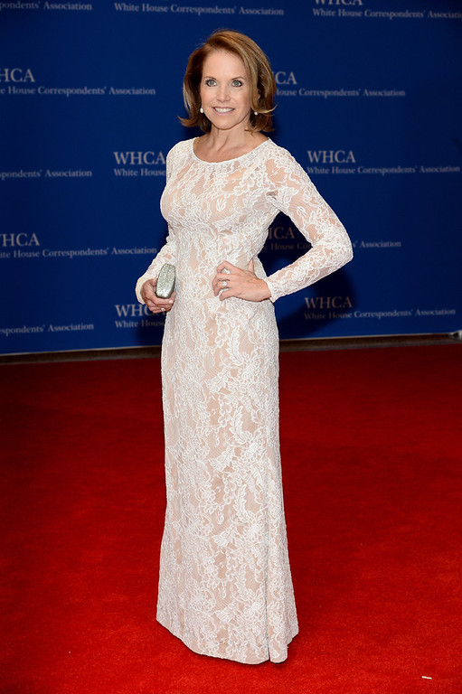 . Katie Couric attends the 100th Annual White House Correspondents\' Association Dinner at the Washington Hilton on May 3, 2014 in Washington, DC.  (Photo by Dimitrios Kambouris/Getty Images)