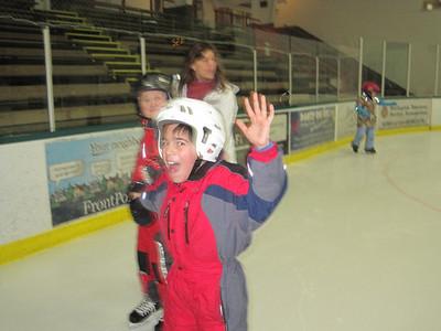 2nd and 3rd grade ice skating 2014