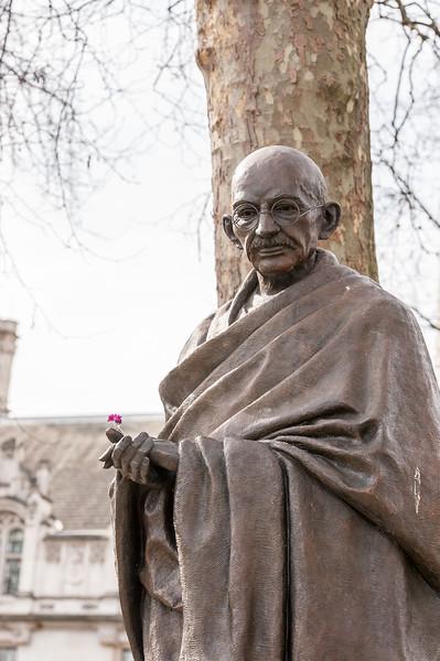 Parliament Square Garden - Mahatma Gandhi