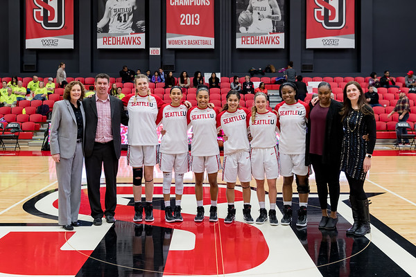 2016 Seattle U Women's Basketball vs Utah Valley
