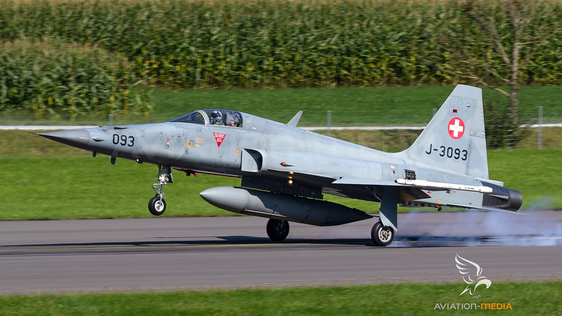 Swiss Air Force Northrop F-5E Tiger II J-3093